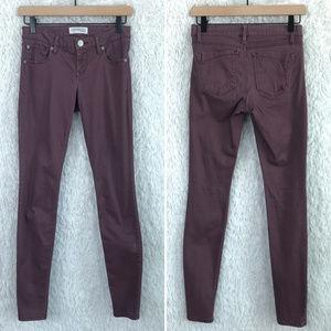 Express | Purple Skinny Jegging Jeans Size 00
